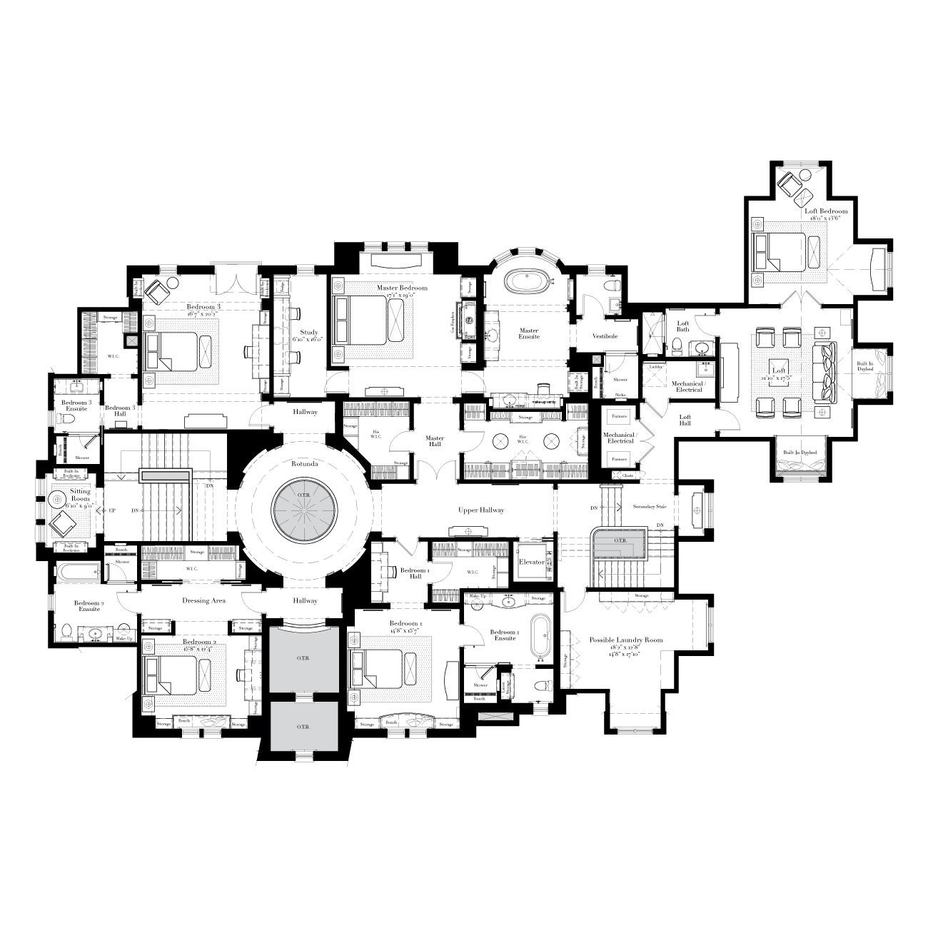 Architectual 1 on pinterest floor plans custom homes for Estate home plans